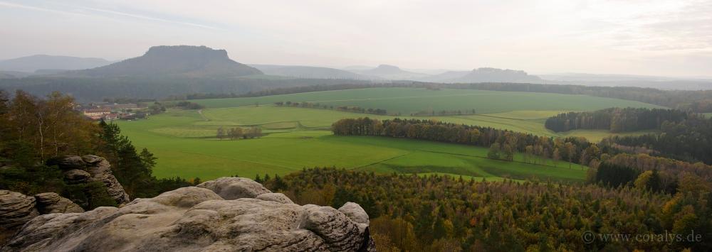 Panoramablick vom Rauenstein